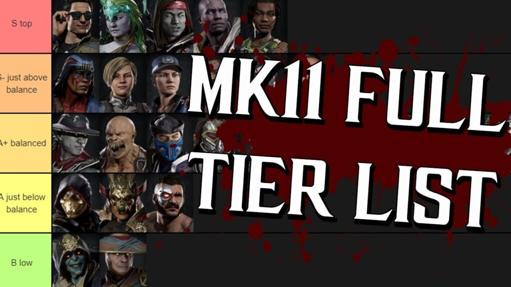 MK11 Tier List: Best Mortal Kombat Characters Ranked By Powers