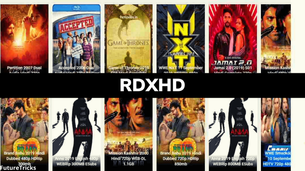 Rdxhd Movie–Download Latest Telugu, Tamil, Kannada, Hollywood, and Bollywood, Movies for Free